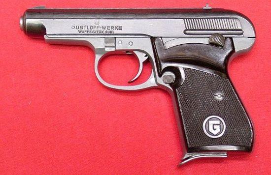 Gustloff .32 Pistol
