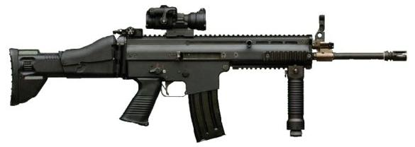 Special Operations Combat Assault Rifle (SCAR)
