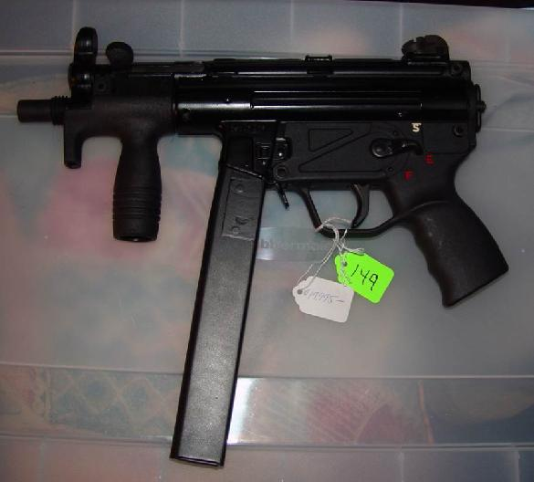 MP5k in 45ACP Sear #500 and the First one built