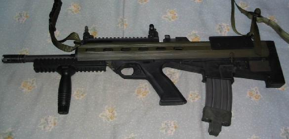 Bushmaster M17S flat-nose bullpup