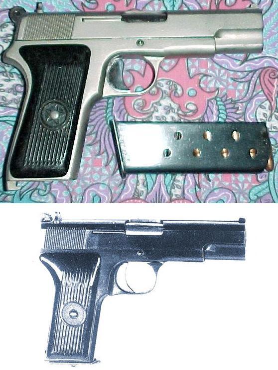 TYPE 68 selfloading handgun