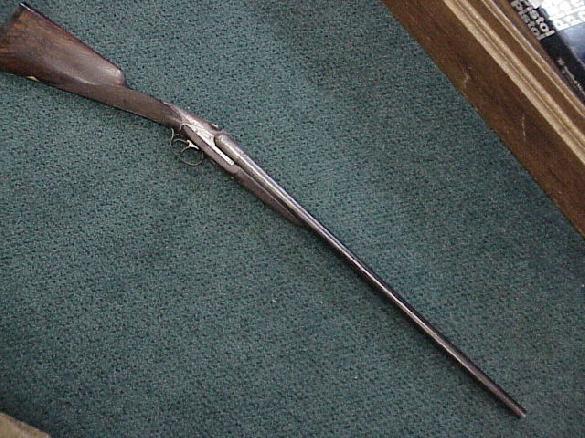 Fusil Darne Model Platinum Type 8 12ga side by side