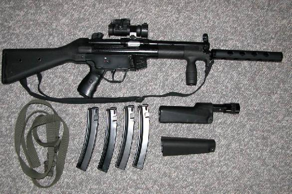 SW5 9mm MP5 Clone made by Special Weapons