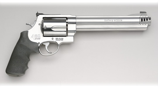 Smith & Wesson Model 460 XVR (Extreme Velocity Revolver) chambered in .460 S&W Magnum