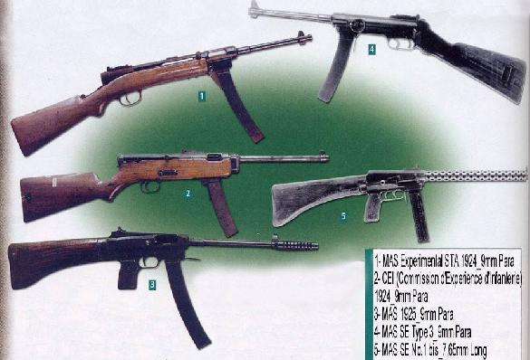 MAS French SMG Collection