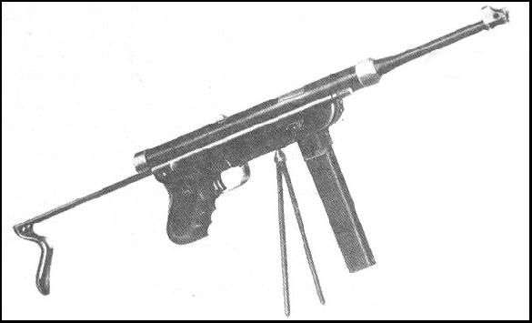 RAN 9mm Submachine gun (1950)