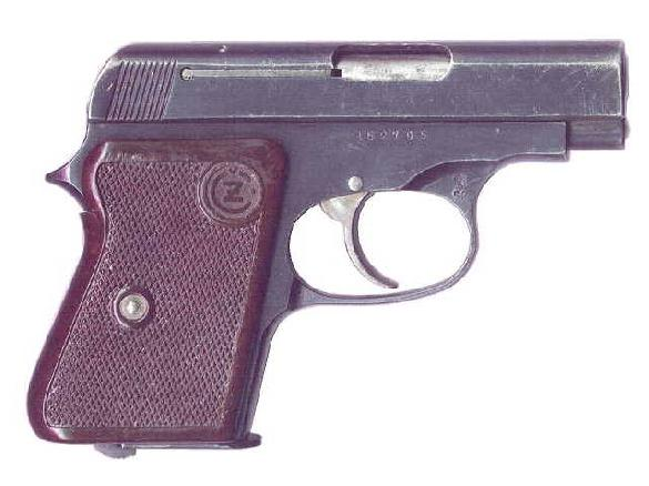 CZ Model 1945 in 6,35mm caliber (.25 ACP)