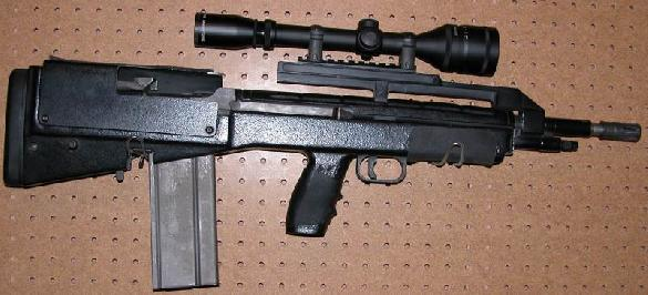 AWC G2 Bullpup Heavy Barrel Based on M14 rifle