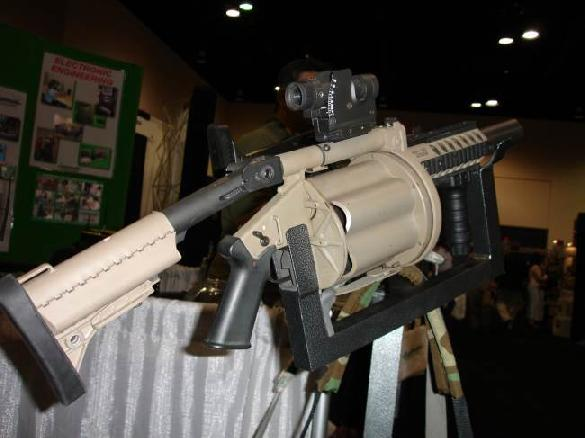 Milkor MGL-140/MEI Hyper-Lethal 40mm Combo/Weapon System for Infantry