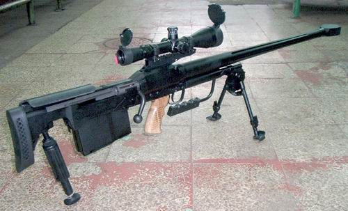 Polish military antimateriel rifle (heavy sniper rifle) Tor