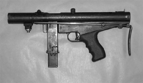 Pleter M91 Submachine gun 9mm