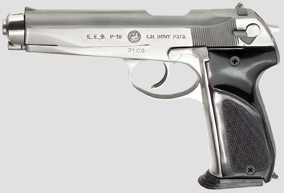 L.E.S. Rogak P-18 selfloading pistol