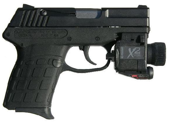 KEL-TEC PF-9 9mm Para pistol, 7 rounds magazine