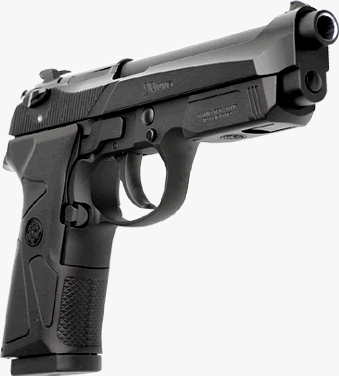 Beretta 90Two model in 9mm Para (17 rounds) or .40 S&W (12 rounds) caliber
