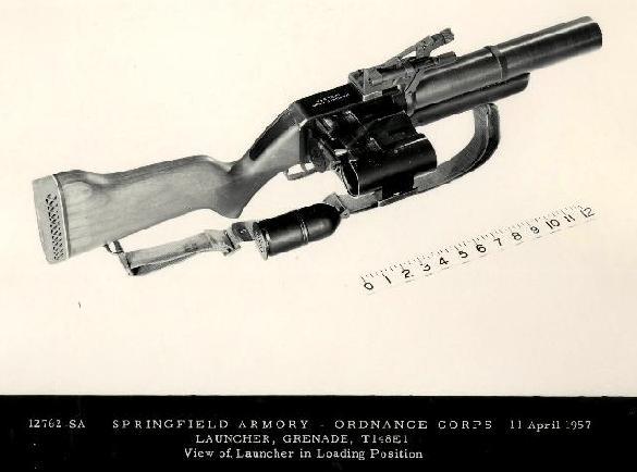 T148E1 40mm Grenade Launcher