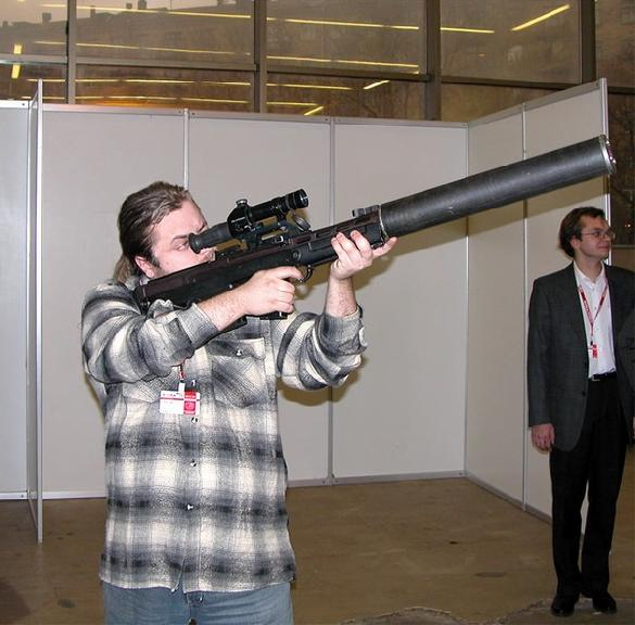 VSSK Vychlop (Exhaust) silenced sniper rifle