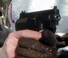 PSS silent pistol