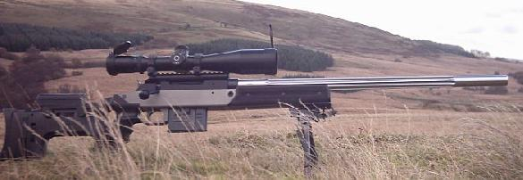 Unique Alpine TPG-1 Modular Multi-Caliber Sniper/Long-Range Interdiction Rifle