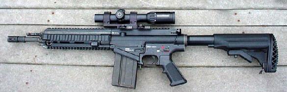 H&K 417 in 7.62x51mm NATO
