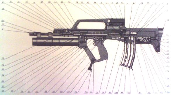 A new Croatian Bullpup Assault Rifle by HS Produkt for the Croatian Army: Croatian VHS Assault Rifle