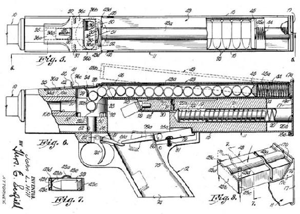 HILL H-15 prototype submachinegun