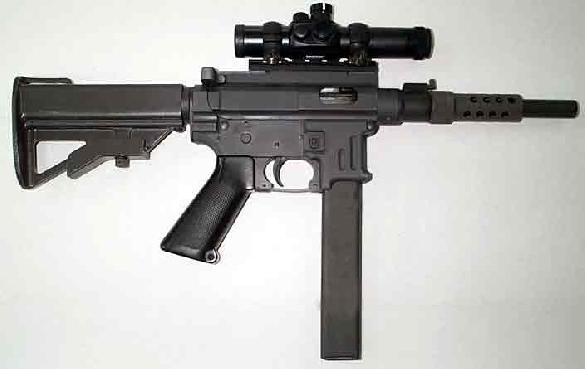 MP9-SAW Special Action Weapon