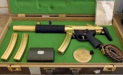 Saddam's gold MP5SD