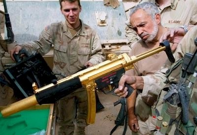 Saddam's gold MP5SD