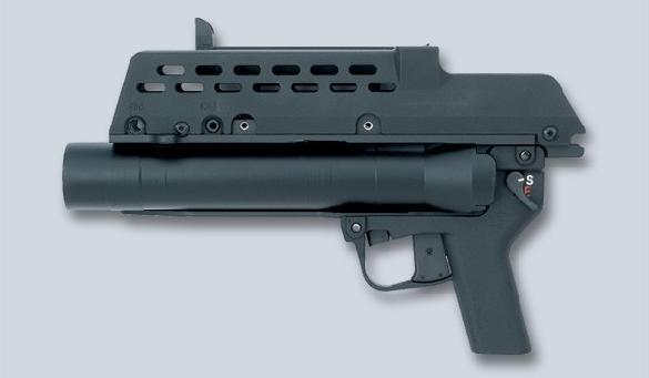 H&K AG-36 grenade launcher