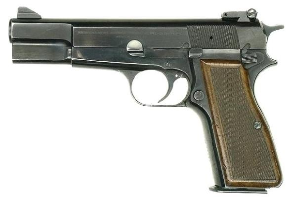 Browning High-Power pistol cal 9mm Luger