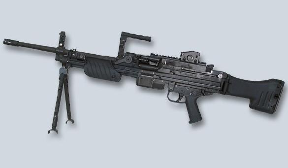 H&K MG-4 machine gun