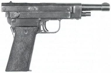 U.S. Army PHILLIPS Automatic Pistol, Experimental, caliber .45 ACP