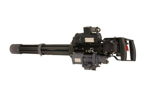 Dillon M134D Gatling Gun