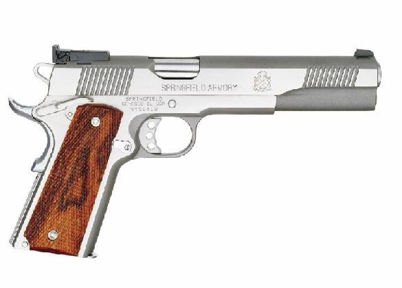 Springfield Armory Custom Loaded Long Slide 1911-A1 .45 ACP