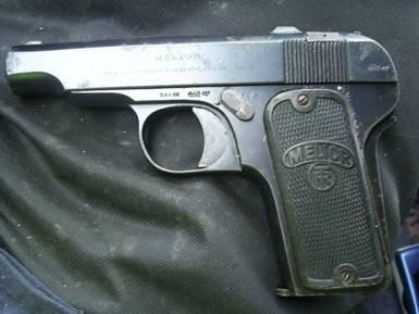 Melior Pistol 7.65mm