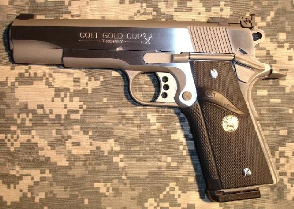 Colt Gold Cup Trophy .45 APC stainless steel
