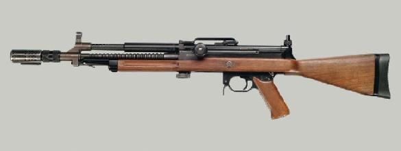 DISA System Type 1 assault rifle in 7,62x39mm caliber, Denmark, 1957