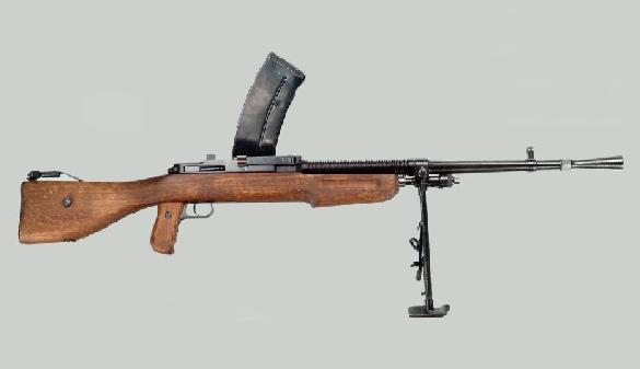 MENDOZA System Model 1934 light machine gun in 7x57mm Mauser caliber, Mexico.