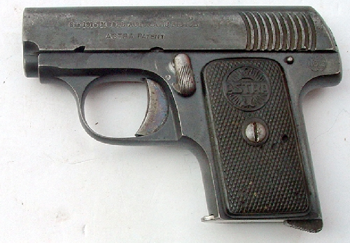 Astra - 1916 Model Automatic Pistol
