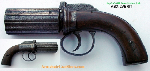 British - pepperbox