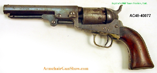 Colt - Model 1849 - Pocket Model percussion revolver