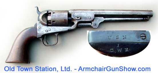 Colt 1851 Navy, Navy issue