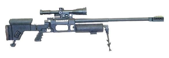 SAXONIA Spezialtechnik Big-Valve M2 precision rifle