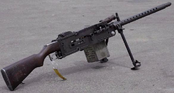 USMC Stinger .30-06 Machine Gun