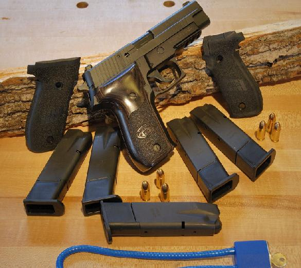SIG P226 Blackwater Limited Edition 9mm