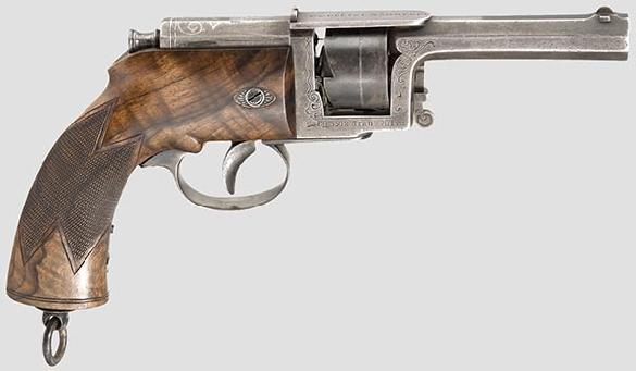 Dreyse needle-fire revolver