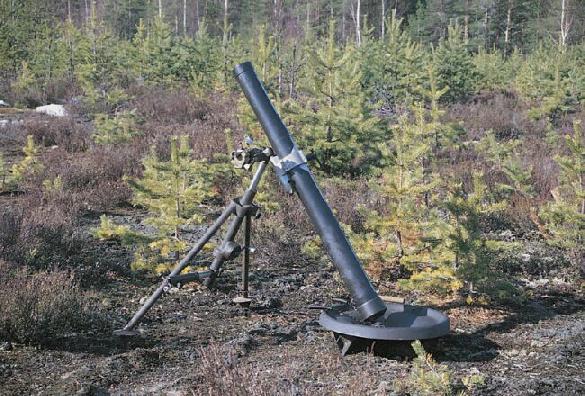 81 KRH 71 Y Finnish 81mm mortar