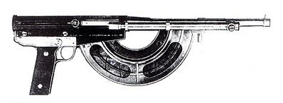 Ribeyrolles shortened Model 1917 rifle  For use as firing port weapon in the Renault FT17 tanks