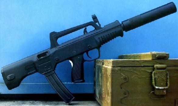 JIANSHE GROUP INDUSTRIES QCW-05 - TYPE JS 5'8x21mm/9x19mm sub-machinegun system