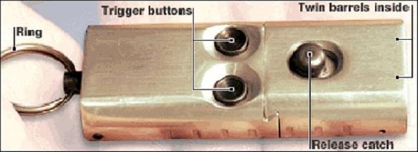 'Keyfob' pistol